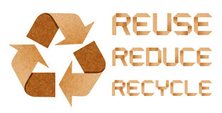 Recycle Logo With Recycle Concept Royalty Free Stock Photo