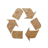 Recycle mark Royalty Free Stock Photography