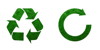 Recycle mark Royalty Free Stock Images