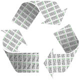 Recycle Newspaper Symbol Stock Photos