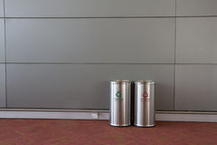 Two Bins Stock Photography