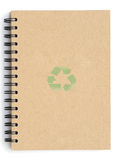 Recycle Notebook Royalty Free Stock Photography