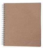 Recycle Notebook brown cover Royalty Free Stock Images