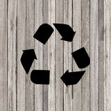 Recycle old wood texture background Stock Photo