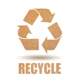 Recycle paper Royalty Free Stock Image