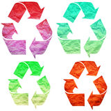 Recycle Paper Royalty Free Stock Images