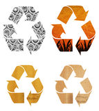 Recycle Paper Stock Photography