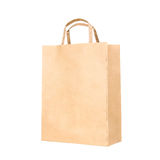 Recycle paper bag Royalty Free Stock Image