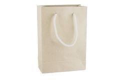 Recycle paper bag Royalty Free Stock Images