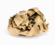 Recycle paper ball. Stock Photos
