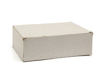 Recycle paper box Stock Image