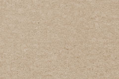 Beige Recycled Kraft Paper Coarse Grunge Texture stock image