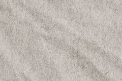 Light Gray Manila Recycled Kraft Wrapping Paper Crumpled Grunge Texture Stock Image