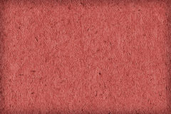 Recycle Paper Light China Red Extra Coarse Grain Vignette Grunge Texture Sample Royalty Free Stock Image