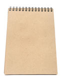 Recycle paper note book Royalty Free Stock Photography