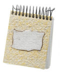 Recycle paper note book Royalty Free Stock Images