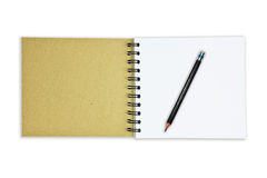 Recycle Paper Notebook Royalty Free Stock Images