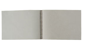 Recycle paper notebook Stock Photos