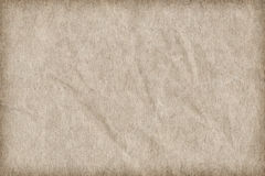 Recycle Paper Off White Coarse Grain Crumpled Vignette Grunge Texture_ Royalty Free Stock Photo