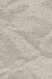 Old Off White Recycled Paper Coarse Grain Crumpled Grunge Texture Royalty Free Stock Images