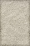 Recycle Paper Off White Extra Coarse Grain Crumpled Vignette Grunge Texture Sample Stock Image