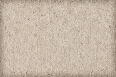 Recycle Paper Off White Extra Coarse Grain Vignette Grunge Texture Sample Stock Image
