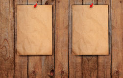 Recycle paper use as note pad Royalty Free Stock Photos