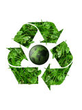 Recycle planet royalty free illustration
