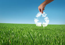 Recycle planet Stock Photos