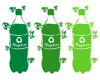 Recycle plastic royalty free stock photo