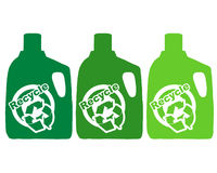 Recycle plastic Stock Image