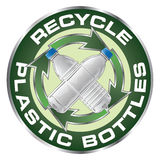 Recycle Plastic Bottles Design Stock Photos