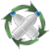 Recycle Plastic Bottles Royalty Free Stock Images