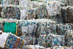 Recycle. Plastic for recycle in Thailand Stock Image