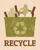 Recycle Poster Stock Image