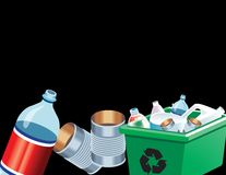 Recycle Products Stock Photo