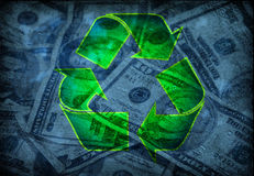 Recycle profits Stock Photos