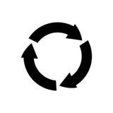 Recycle reduz-se e reutiliza-se ilustração royalty free