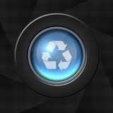 Recycle or refresh icon royalty free illustration