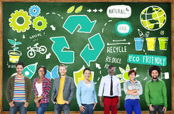 Recycle Reuse Reduce Bio Eco Friendly Environment Concept Royalty Free Stock Image