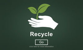 Recycle Reuse Reduce Ecosystem Environment Concept Stock Photography