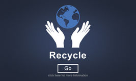 Recycle Reuse Reduce Ecosystem Environment Concept. Recycle Reuse Reduce Ecosystem Environment Stock Images
