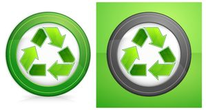 Recycle in round Stock Photos