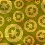 Recycle. Seamless pattern. Stock Images