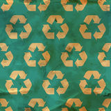 Recycle. Seamless pattern. Stock Photo
