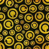 Recycle. Seamless pattern. Stock Photo