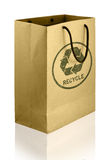 Recycle shopping bag Royalty Free Stock Photo