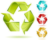 Recycle sign Stock Image