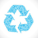 Recycle sign Royalty Free Stock Images
