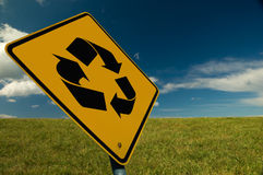 Recycle Sign Stock Images